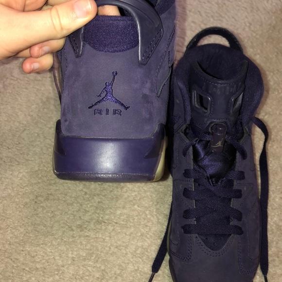 sports shoes 22a39 d6fec Purple dynasty Jordan 6